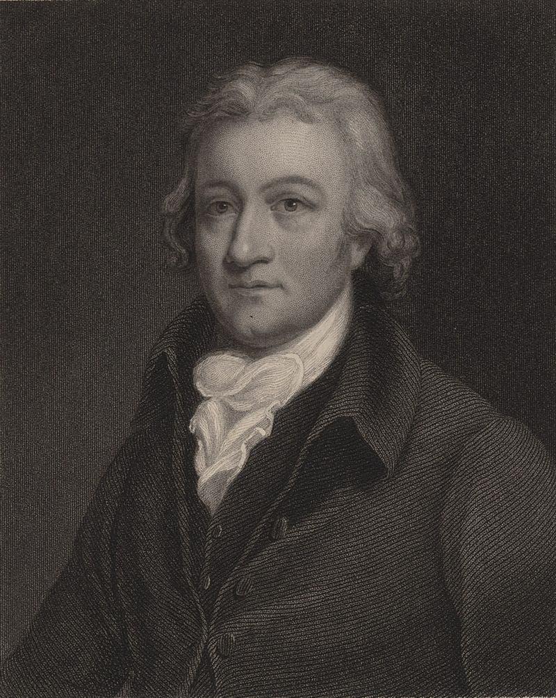 صورة للمخترع الأنجليزي إدموند كارترايت