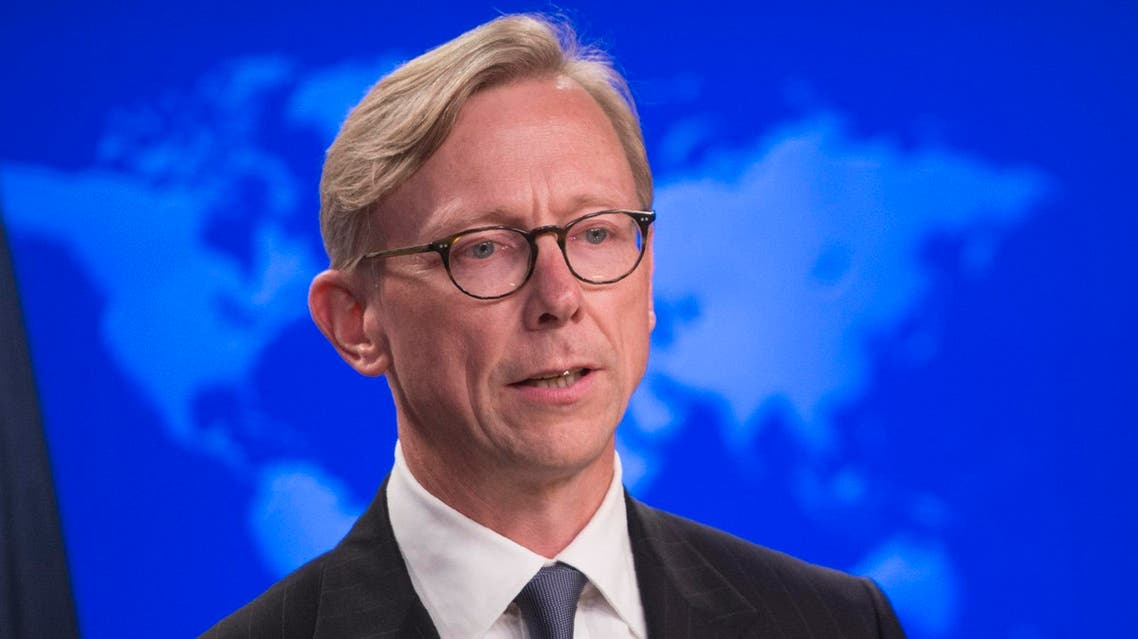 Brian Hook at the State department in Washington, DC, on August 16, 2018. (AFP)