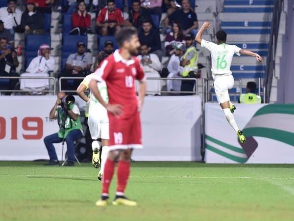 الأخضر يهزم لبنان ويطير الى ثمن النهائي
