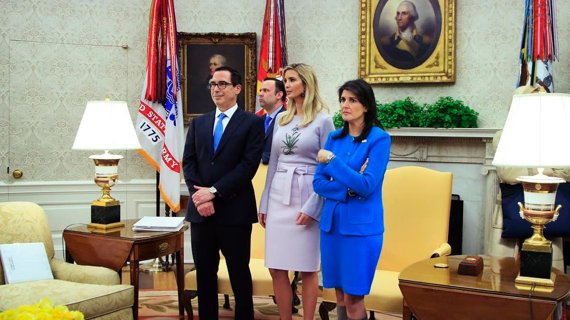 Ivanka Trump and Nikki Haley (AP)