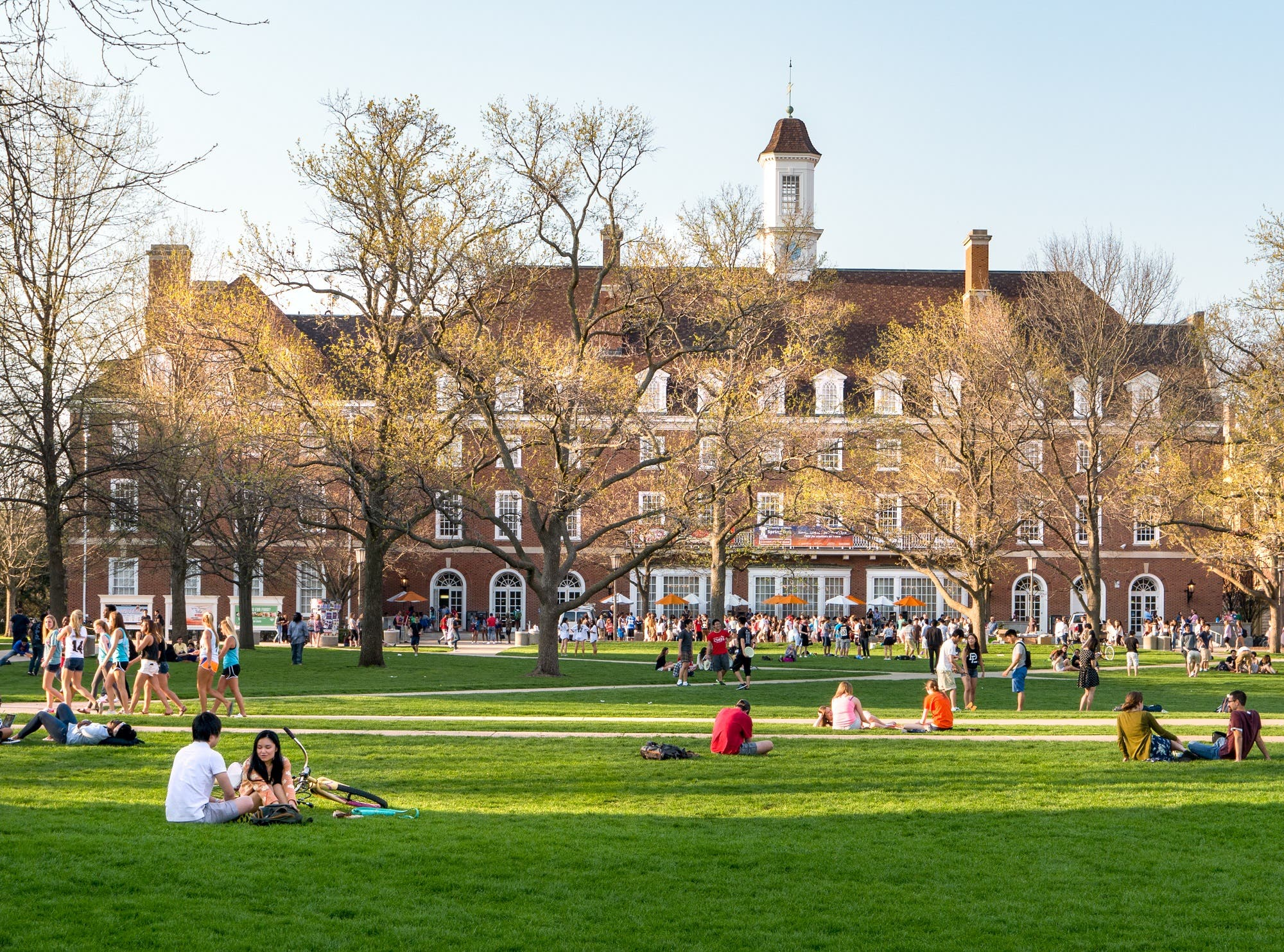 US university campus (Shutterstock)