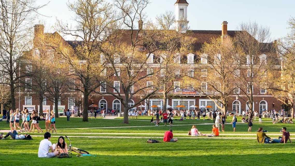 US university campus (Shutterstock)