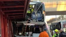 Three killed as Ottawa bus crashes into bus shelter