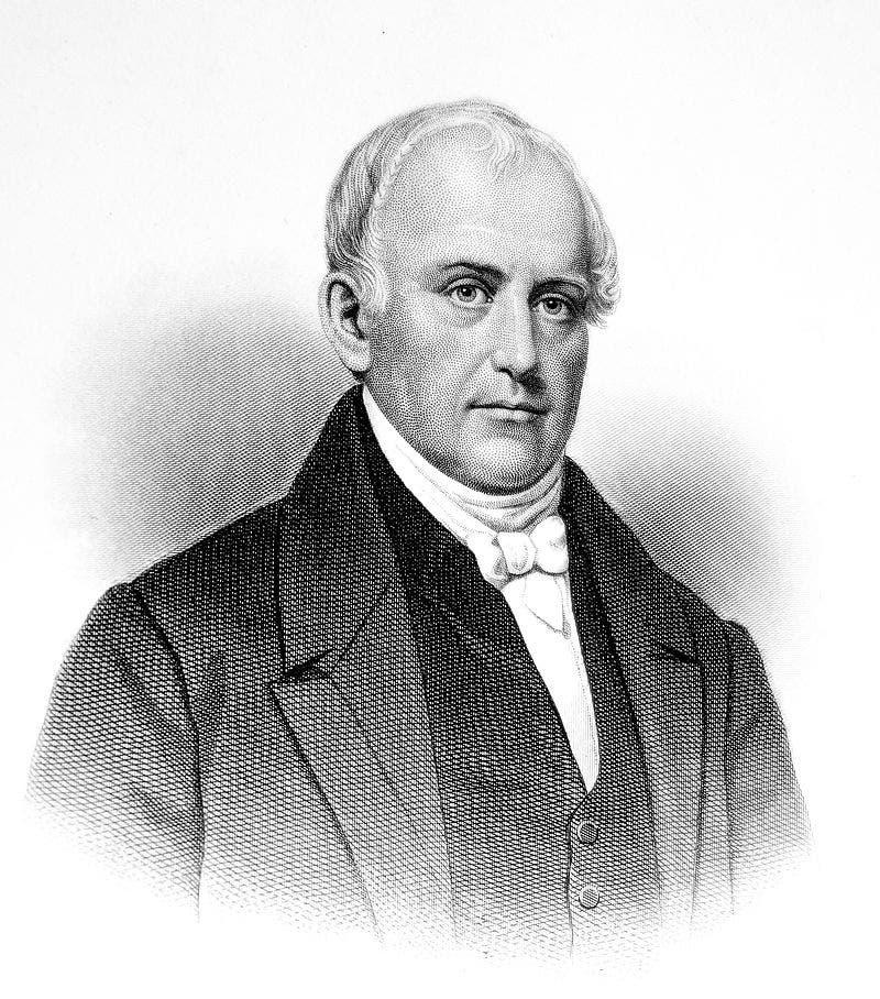 صورة لصامويل سلاتر والذي نقل جزءا هاما من صناعة النسيج البريطانية نحو الولايات المتحدة الأميركية