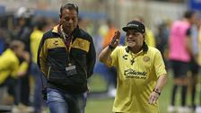 مارادونا يرحل عن النادي المكسيكي لدواعٍ صحية