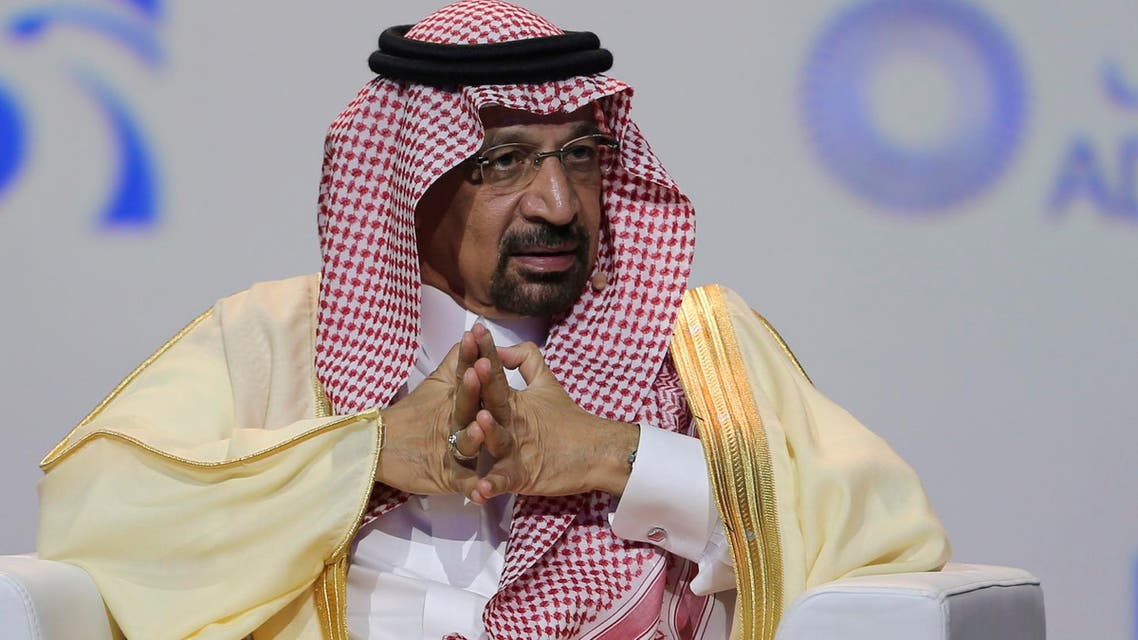 Khalid al-Falih, said Sunday that Saudi Arabia went beyond its commitment to lower both the production and exports of oil over the last couple of months. (file photo: AFP)