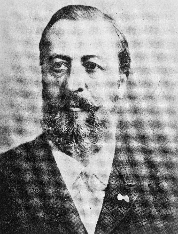 صورة للمخترع الألماني نيكولاس أوتو