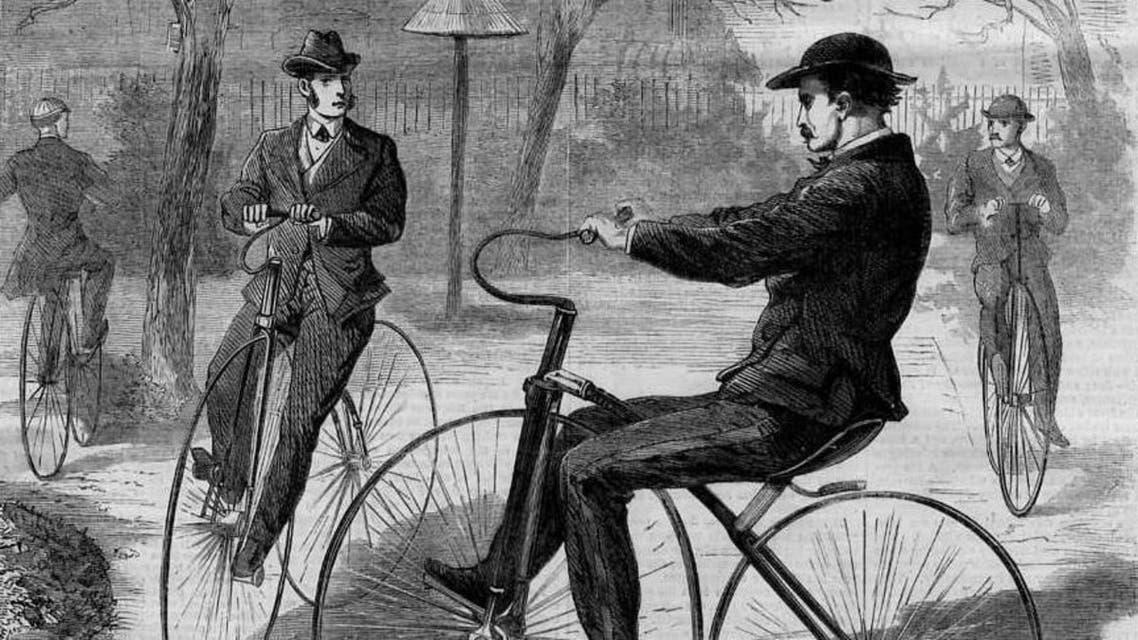 رسم تخيلي لدراجة Velocipede
