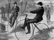 أول دراجة نارية اخترعها البشر.. ومحرك بخاري يعمل بالفحم