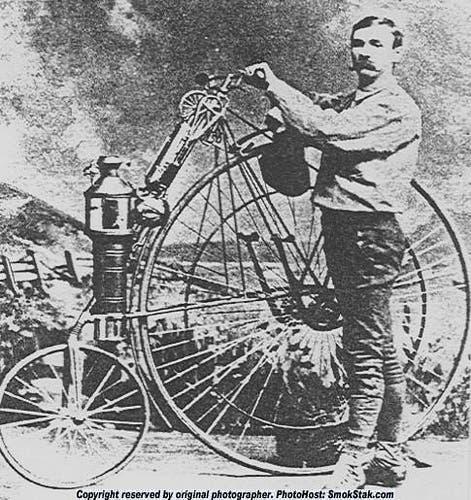 صورة للمخترع الأميركي لوسيوس كوبلاند