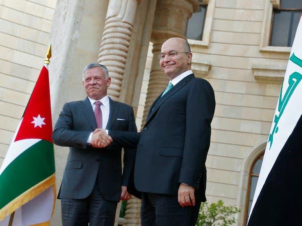 العاهل الأردني في بغداد لأول مرة منذ 10 سنوات