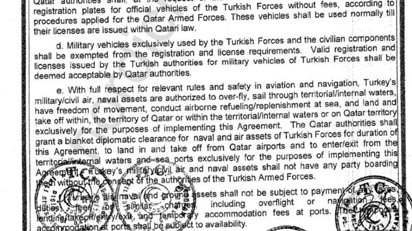 مفاجأة.. المنشآت التركية في قطر لا تستطيع الدوحة دخولها