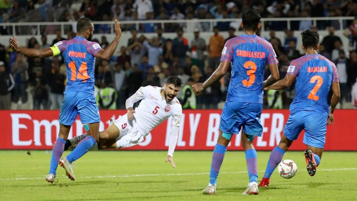 Asian Cup India and Bahrain (AFP)