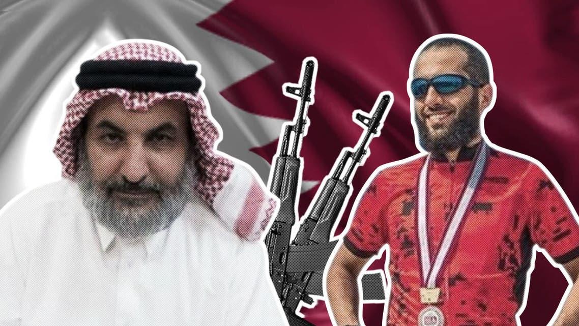 مبارك العجي و عبد الرحمن عمير النعيمي