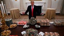As shutdown bites, Trump foots bill for fast food feast