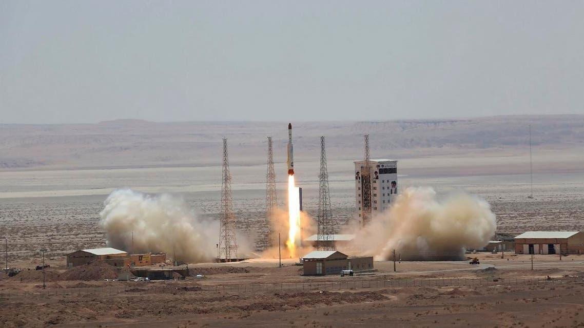 Iran satellite launch. (File photo: AP)