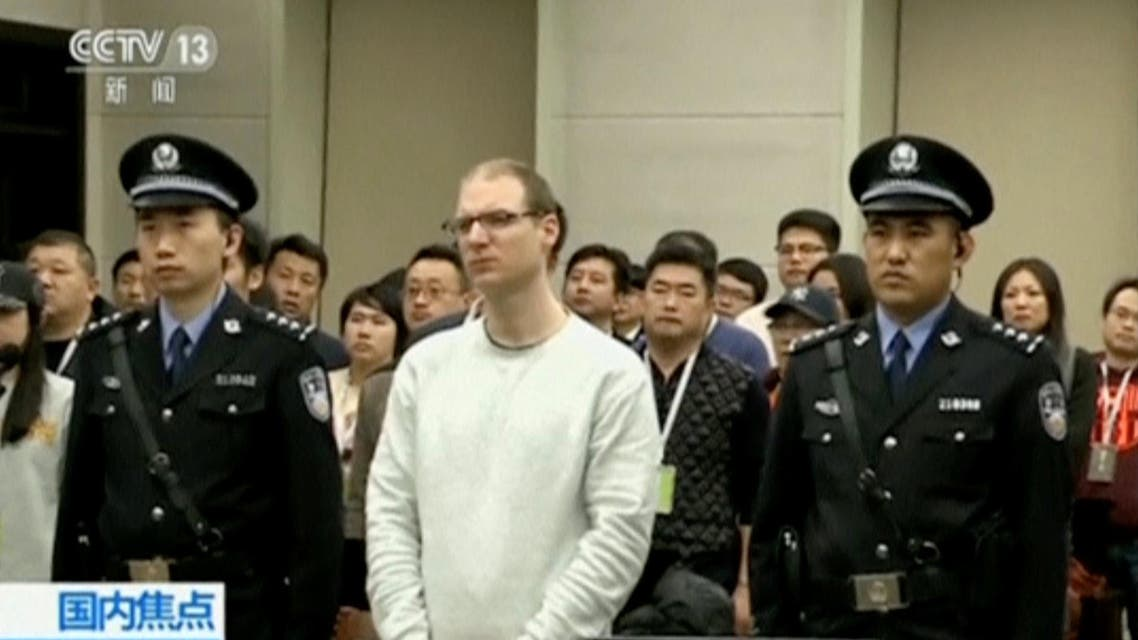 Robert Lloyd Schellenberg Canadian sentenced to death in China. (Reuters)