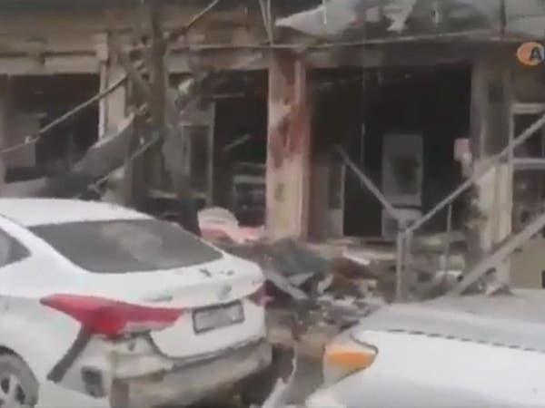 تفجير عبوة ناسفة بحافلة تقل مدرسين بمنبج ومقتل سائقها