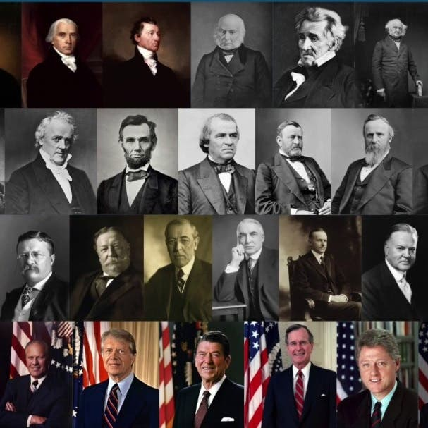 من هو الأميركي الوحيد الفائز بأربعة انتخابات رئاسية؟