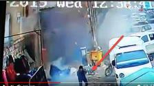 شامی شہر منبج میں خودکش حملے کی ویڈیو سامنے آ گئی