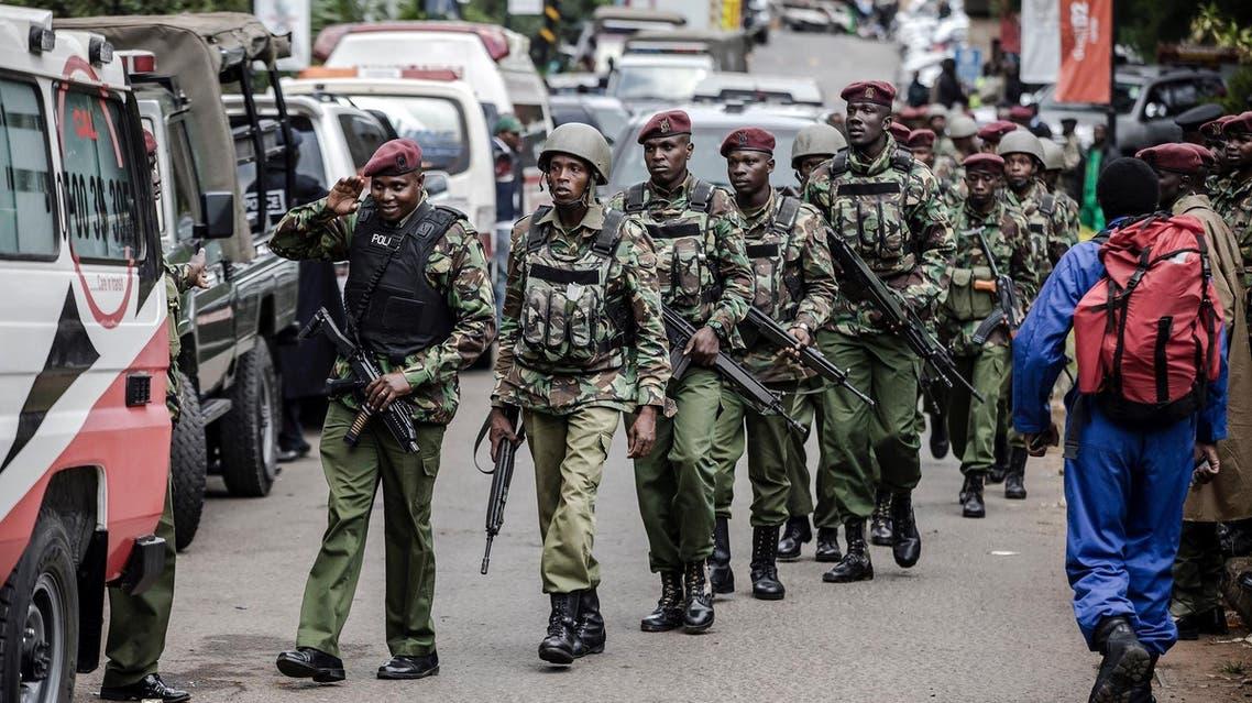 Kenyan security forces (AP)