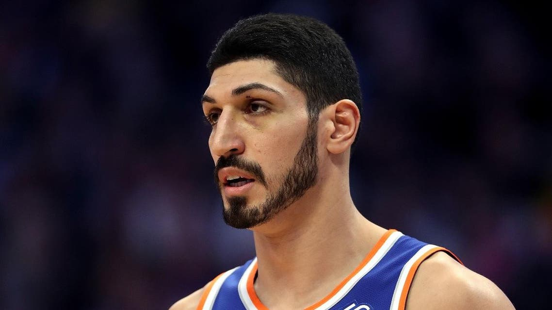 Enes Kanter of the New York Knicks plays the Denver Nuggets in Denver, Colorado. (File photo: AFP)