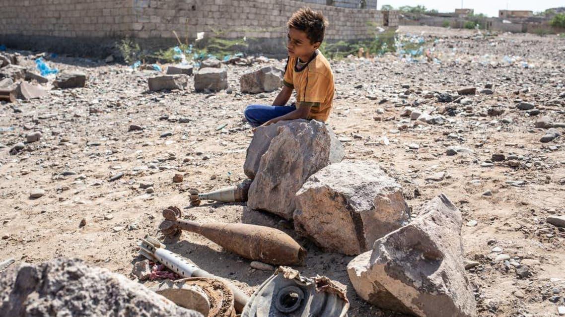 Houthi mines in Yemen. (Photo courtesy: MSF)