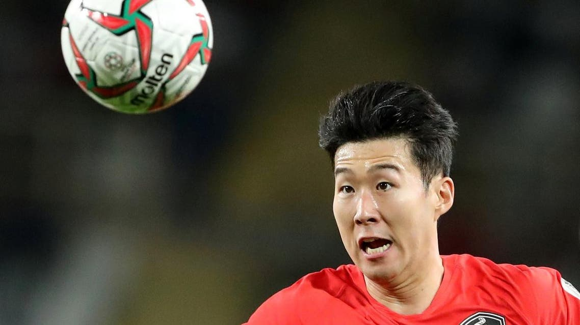 South Korea's Son Heung-Min in action during the Asian Cup. (Reuters)