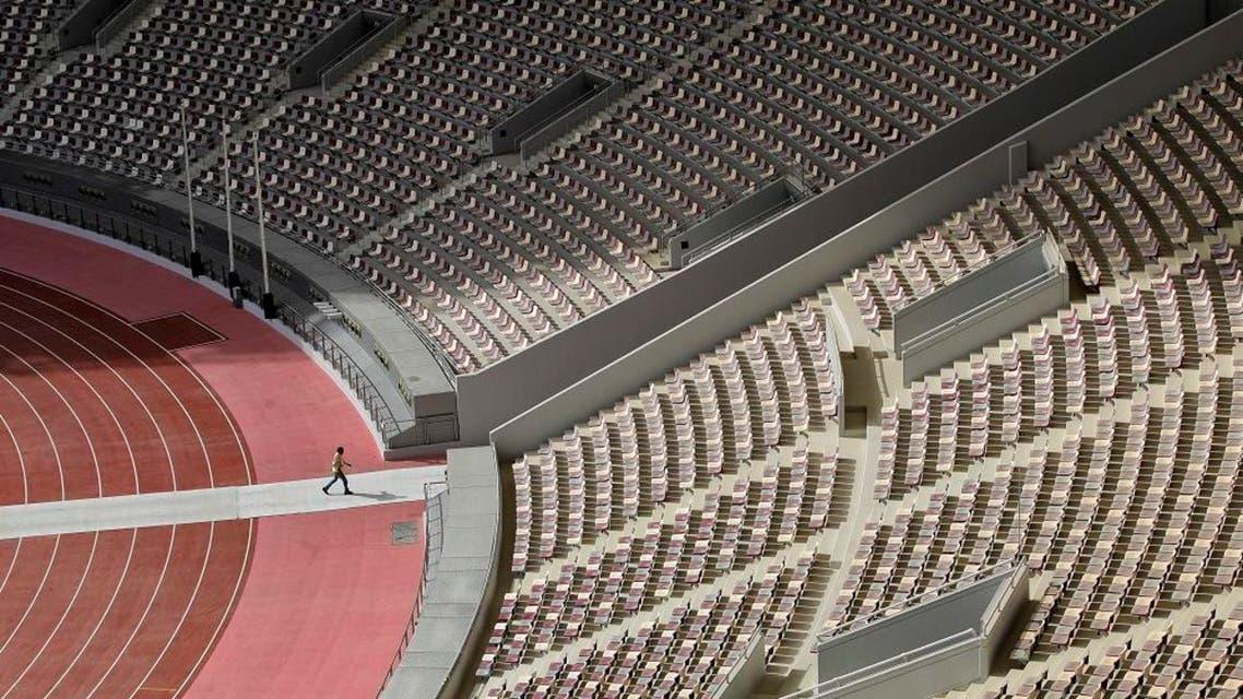 Khalifa International Stadium in Doha, Qatar. ap