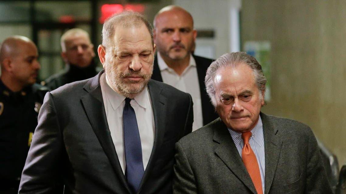 Harvey Weinstein, left, arrives at New York Supreme Court with his attorney Benjamin Brafman on Dec. 20, 2018. (AP)