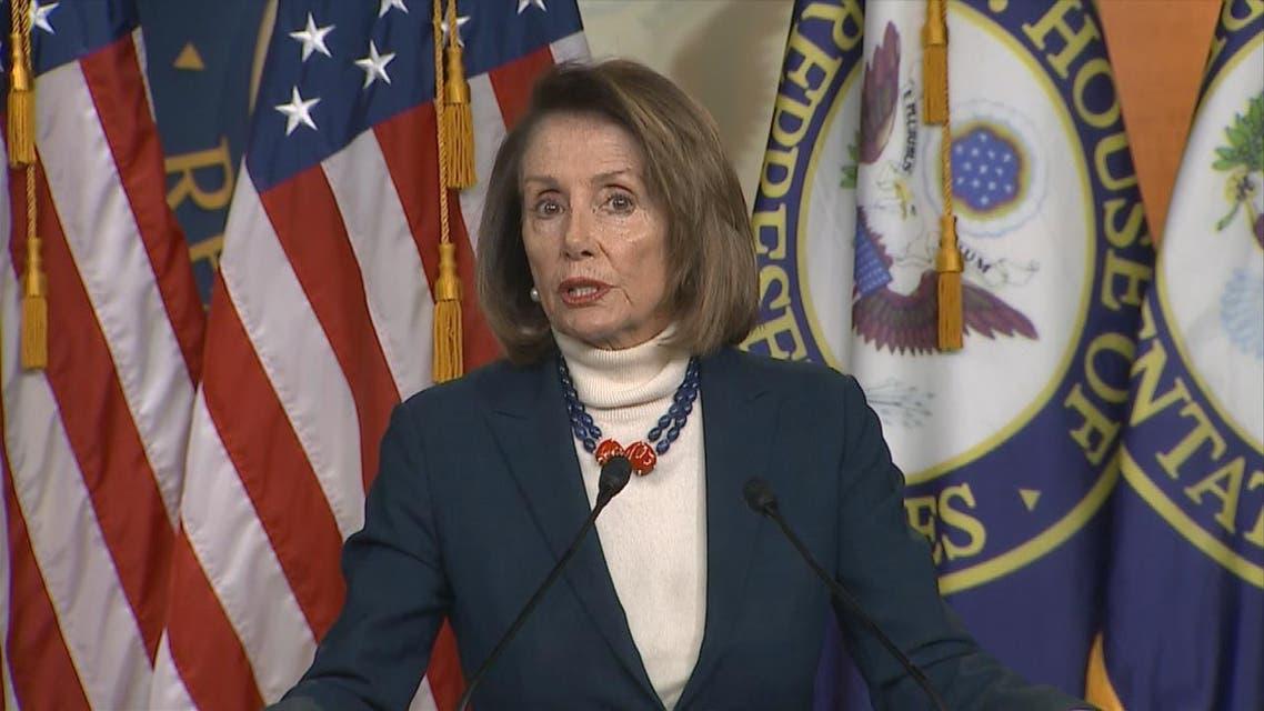 THUMBNAIL_ لماذا منع ترمب رئيسة مجلس النواب الأميركي بيلوسي من السفر بالطائرة؟