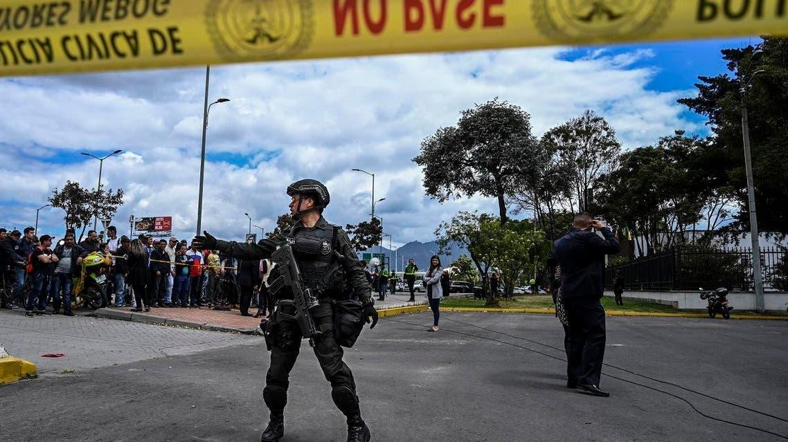 Colombia, Bogota car explosion (AFP)