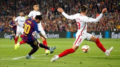 برشلونة وإشبيلية يتواجهان في قمة ربع نهائي كأس إسبانيا