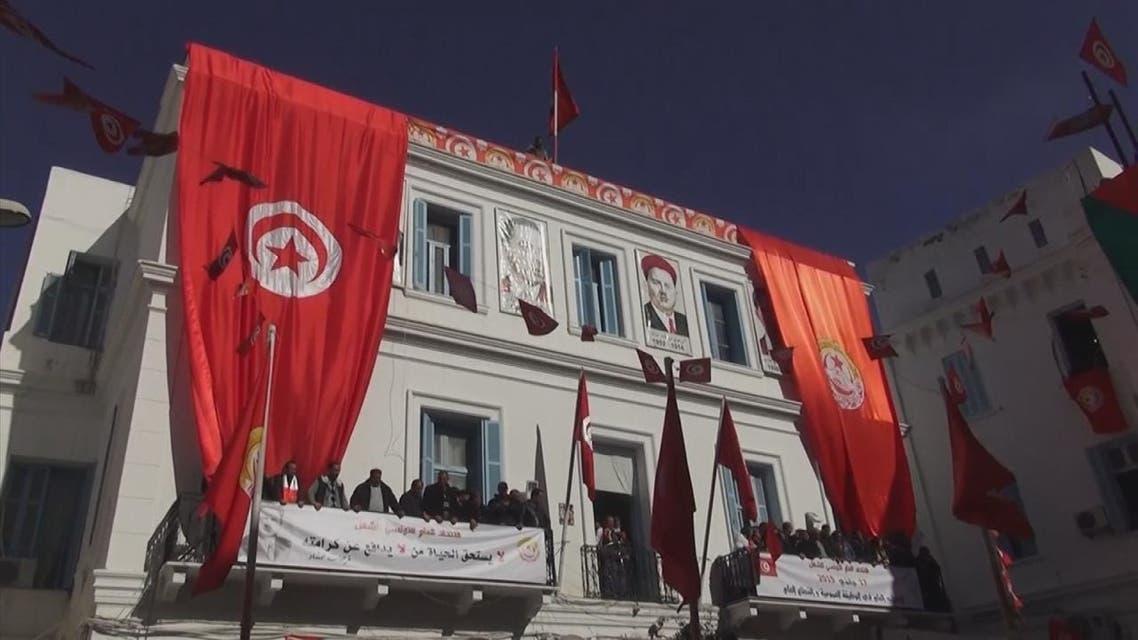تونس.. اتحاد الشغل يدعو لإضراب جديد