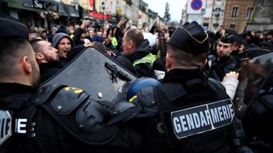 اشتباكات رغم قلة المشاركين باحتجاجات السترات الصفر