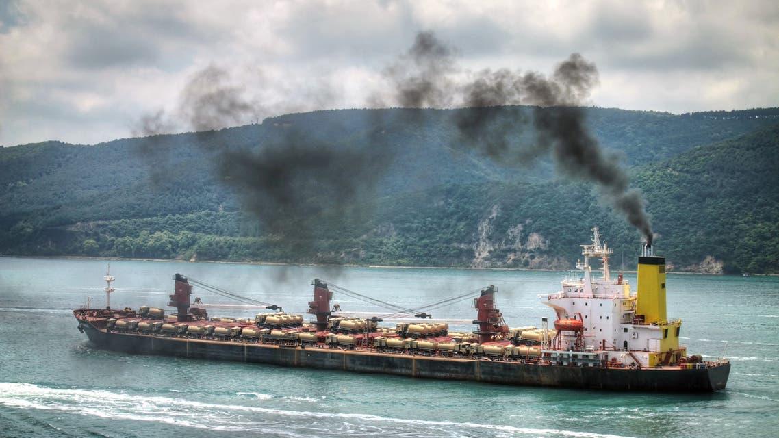 تلوث الجو سفن
