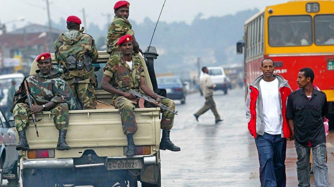 File photo of members of the Ethiopian army. (AP)