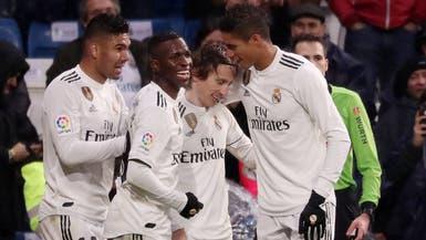 ريال مدريد ينجو من إشبيلية بهدفي كاسيميرو ومودريتش