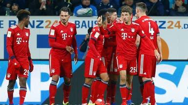 بايرن يستهل عودة الدوري الألماني بانتصار على هوفنهايم