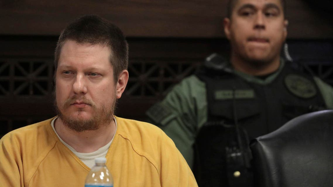 Former Chicago police Officer Jason Van Dyke attends his sentencing hearing at the Leighton Criminal Court Building, Friday, Jan. 18, 2019, in Chicago, for the 2014 shooting of Laquan McDonald. (AP)