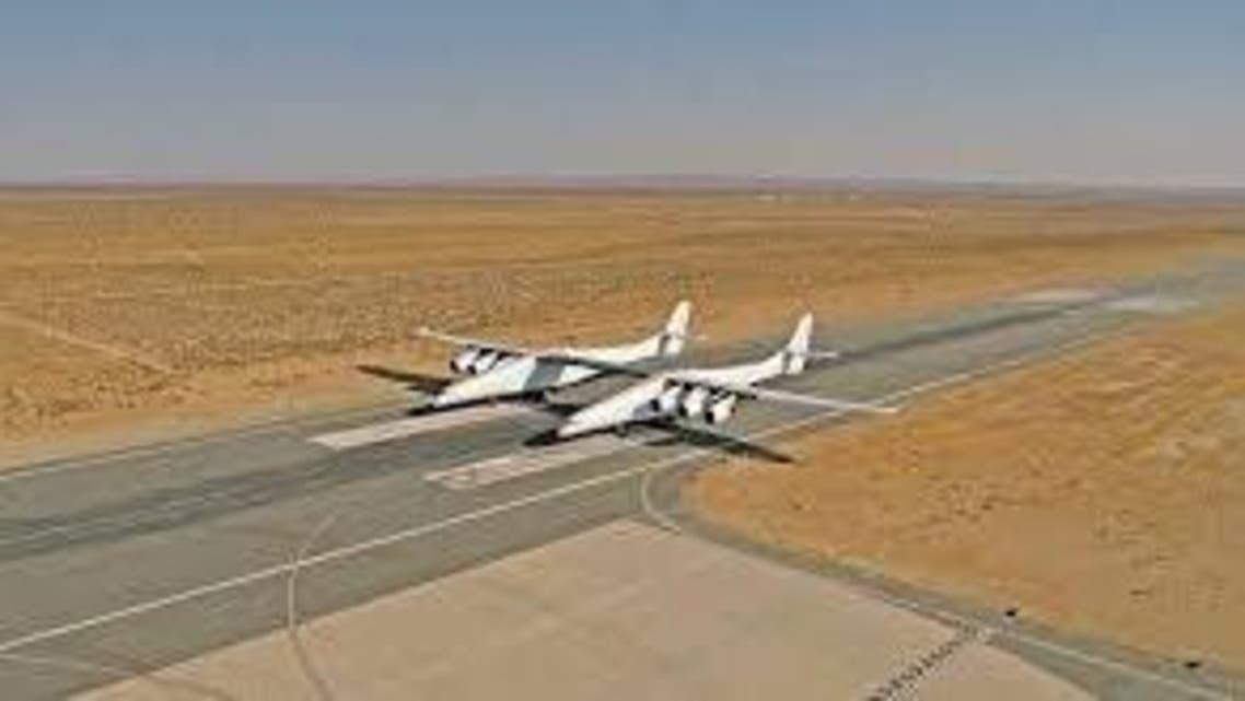 نخستین پرواز بزرگترین هواپیما با بدنه دوقلو نزدیک است