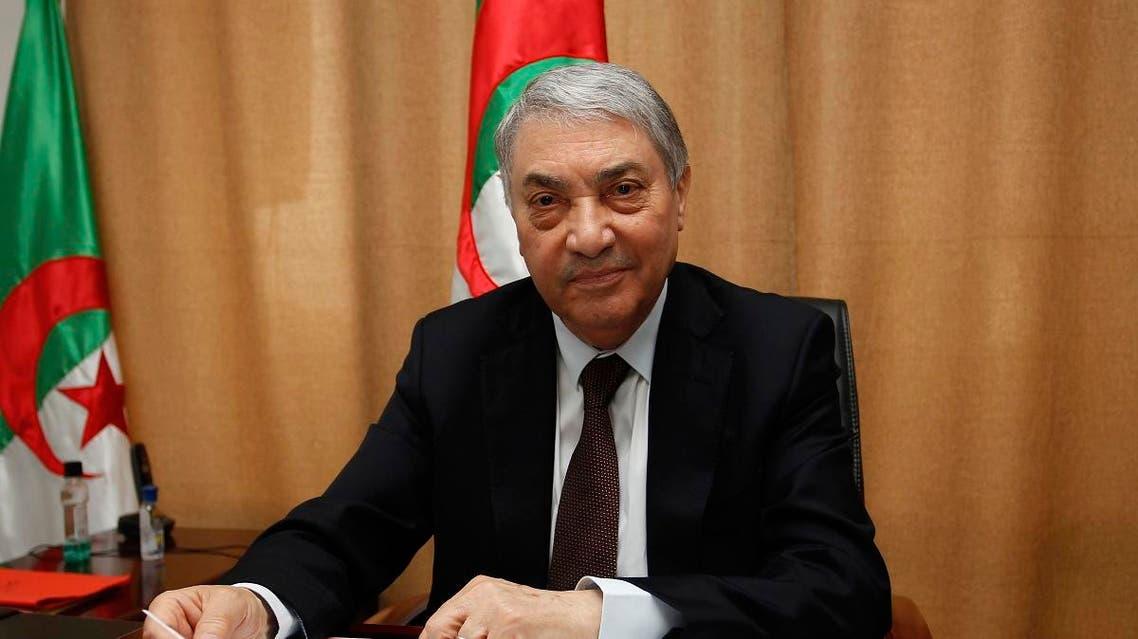 Algerian ex-Prime Minister Ali Benflis (AP)