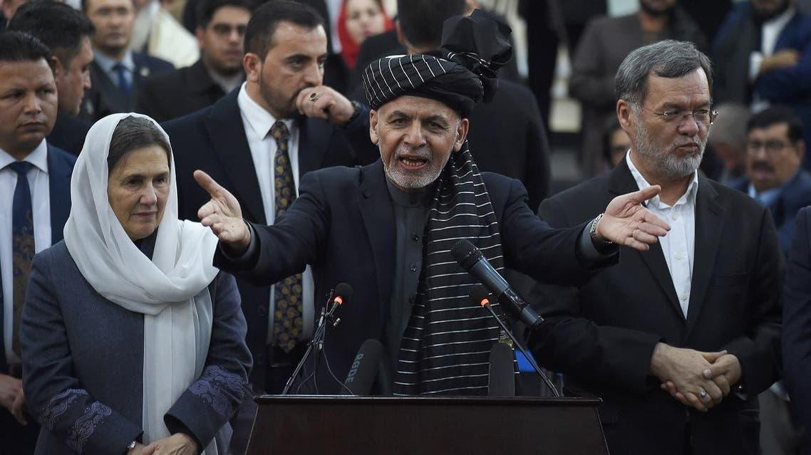Afghan President Ashraf Ghani (AFP)