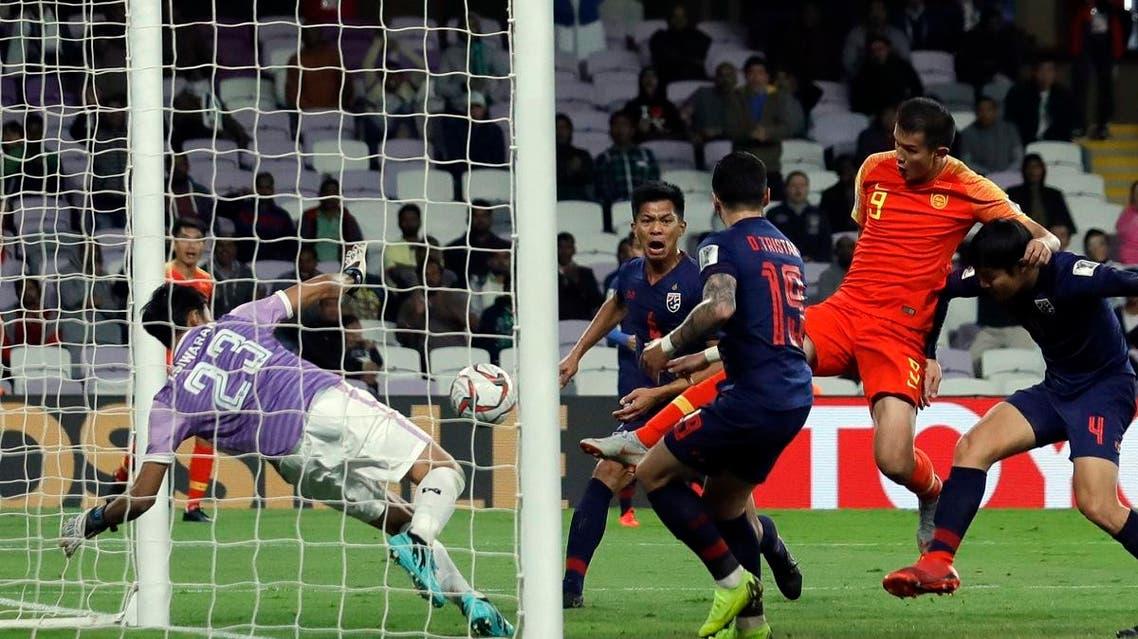 Asian Cup China beat Thailand Al-Ain, UAE(AP)