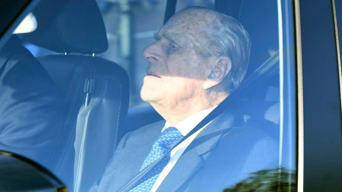 Britain's Prince Philip has been spoken to by the police for driving without a seatbelt, just two days after the 97 year old survived a car crash. (File photo: AP)