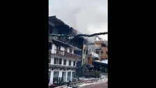 French ski resort fire kills two