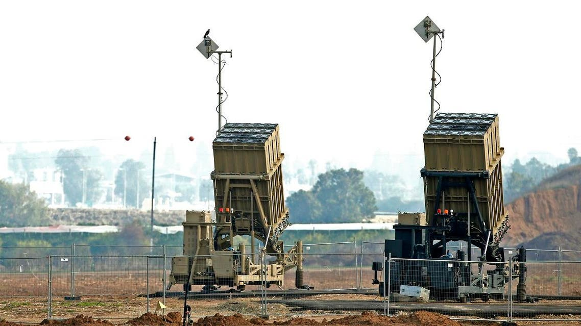 Israel Iron Dome 1 (AFP)
