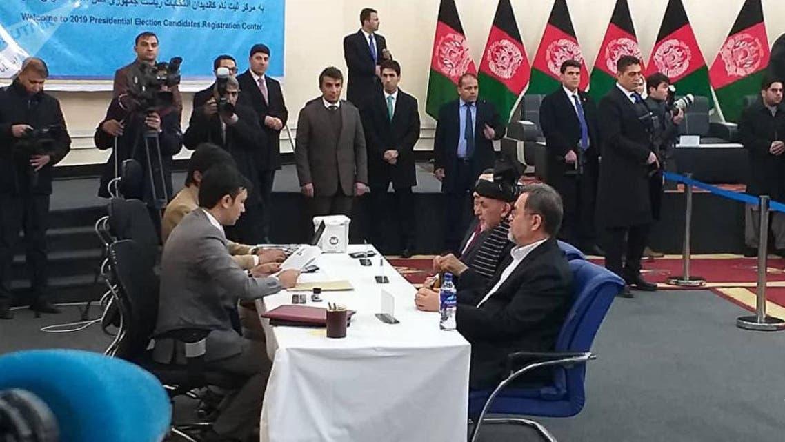 محمد اشرف غنی با شعار« دولت قوی» نامزد انتخابات ریاست جمهوری شد