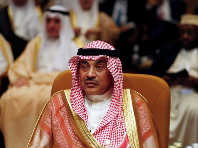 رئيس وزراء الكويت: ندعو إيران لحوار مبني على احترام سيادة الدول