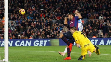 ليغانيس يطعن في هدف سواريز ويشكو حكم المباراة